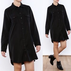 Dex Tencel Shirt Dress